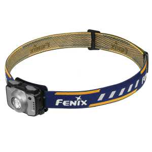 Fenix HL12R 400 Lumens Rechargeable Headtorch - Grey