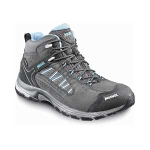 Meindl Journey Mid GTX Womens Mid Walking Boots - Anthracite/Blue