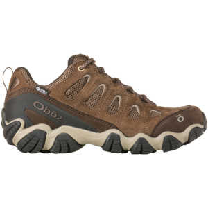 Oboz Sawtooth II Low BDRY Waterproof Walking Shoes - Walnut