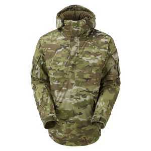 Keela Special Forces Waterproof Insulated Belay Smock - Field Camo