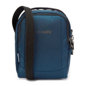 Pacsafe Metrosafe LS100 ECONYL Anti-Theft Recycled Crossbody Bag - Deep Ocean