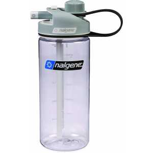 Nalgene 0.6L (20 oz) Multi Drink Bottle - Transparent