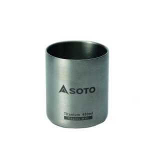 Soto Aeromug Titanium Mug with Lid - 450ml