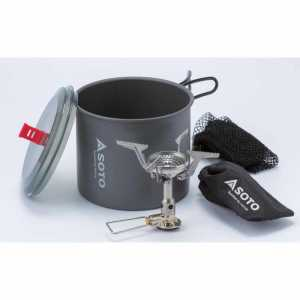Soto New River Pot and Amicus Stove Combo Set
