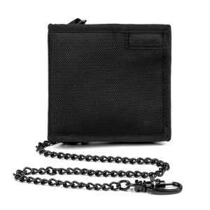Pacsafe RFIDsafe Z100 RFID Blocking Bi-Fold Wallet - Black