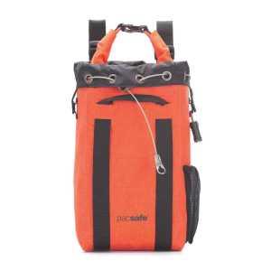 Pacsafe Dry 15L Travelsafe Anti-Theft Portable Safe - Orange (Ex-Sample)