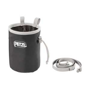 Petzl Bandi Chalk Bag - Grey