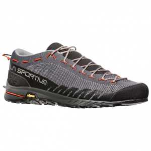 La Sportiva TX2 Approach Shoes - Carbon/Tangerine
