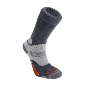 Bridgedale Trekker Midweight Wool Fusion Sock - Gunmetal