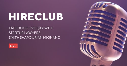 HireClub Live with Smith Shapourian Mignano