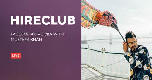 HireClub Live With Mustafa Khan