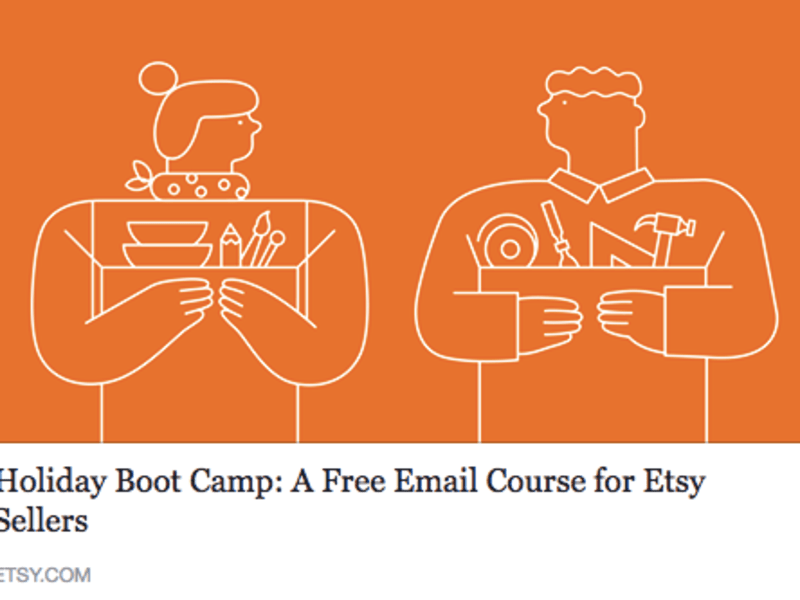 Etsy 2015 Holiday Boot Camp