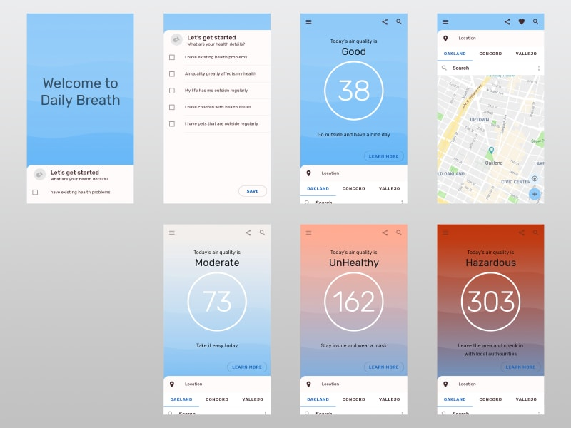 Air Quality Mobile App