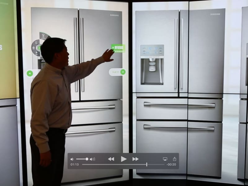 "Samsung ""CenterStage"" Experience for Home Appliance Retail"