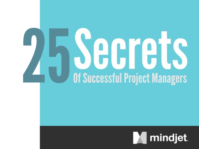 SlideShare: 25 Secrets of Succesful Project Managers