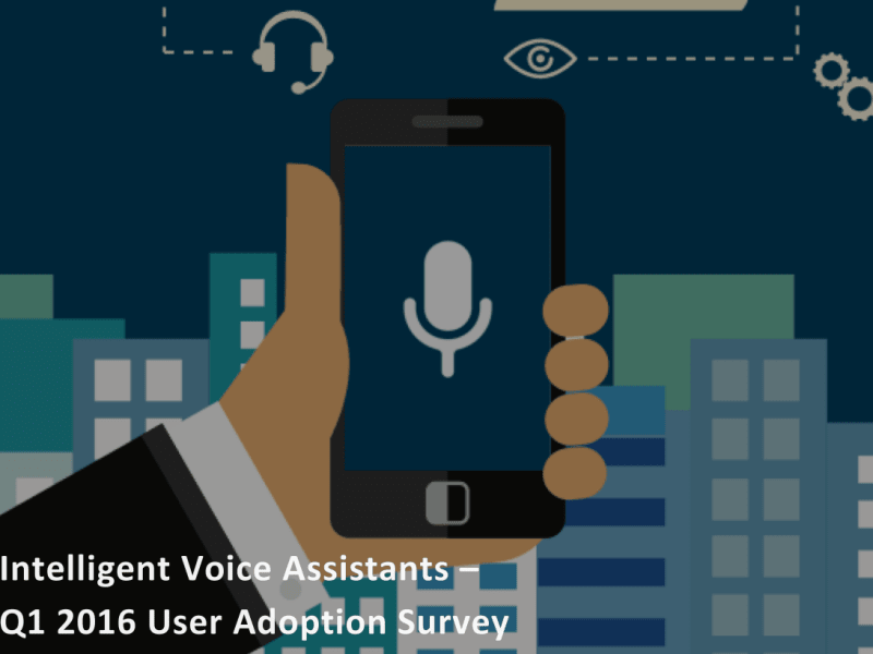 Voice assistants research report