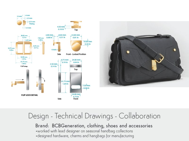 Hardware Design for BCBGeneration Handbags