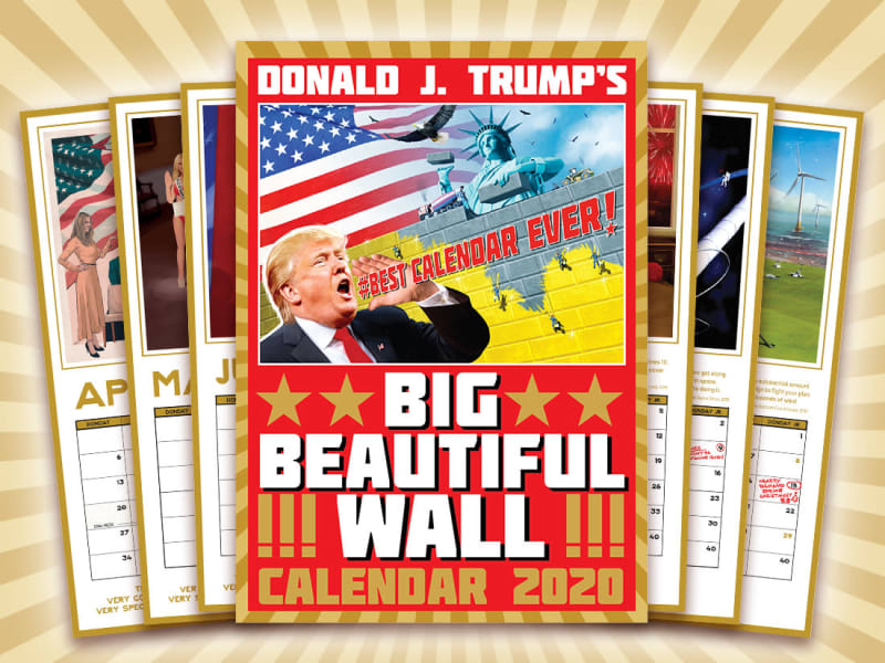 Big Beautiful Wall Calendar
