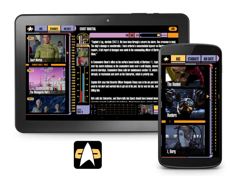Trek Episode Guide Android App