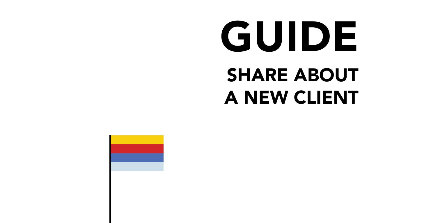 Share About a New Client