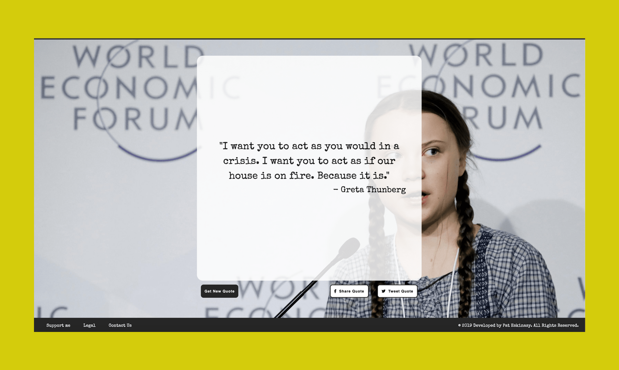 Random Greta Thunberg