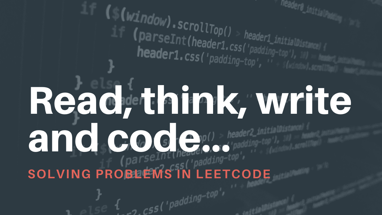 Understanding the Competitive Programming problems