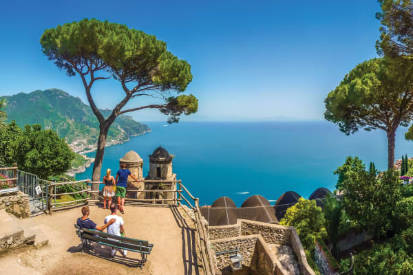 Sorrento, Amalfi Coast, Pompeii & Vesuvius Tour HA,Sorrento