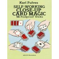 Book-Self Working Close-Up Card Magic