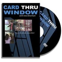 DVD-Card Thru Window