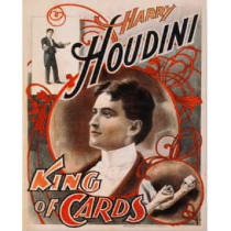 Poster-King Of Cards