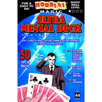 Ultra Mental Deck (Invisible Deck)