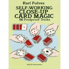 Book-Self Working Close-Up Card Magic