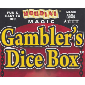 Gambler's Dice Box