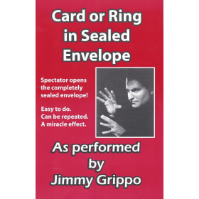 Grippo Card or Ring in Sealed Envelope