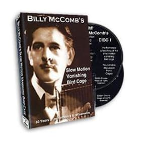 DVD-Billy McComb's Slow Motion Vanishing Bird Cage