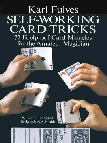 Book- Self Working Card Tricks