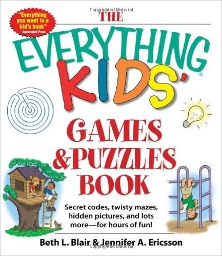Book-Everything Kids Games&Puzzles