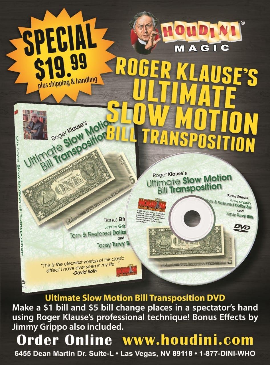 Roger Klause's -Slow Motion Bill Transposition