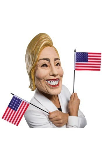 Mask-Hilary Clinton