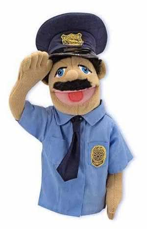 Puppet-Police Officer