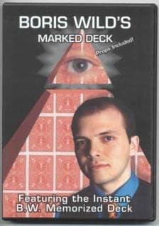 Boris Wild's Marked Deck