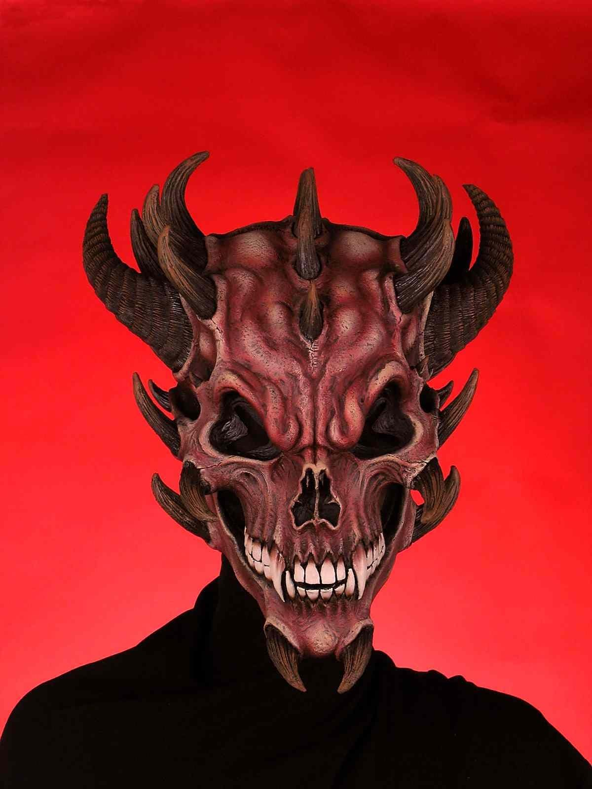 Mask-Devil Skull