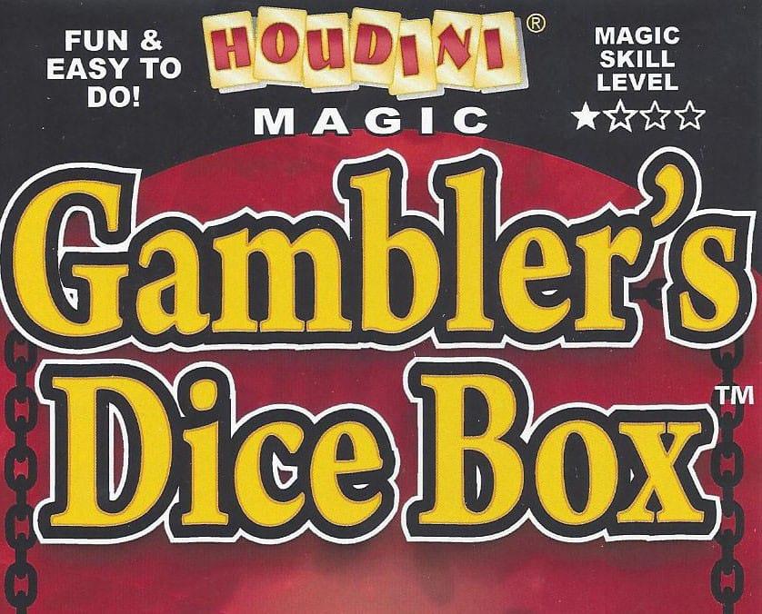 Gambler's Dice Box