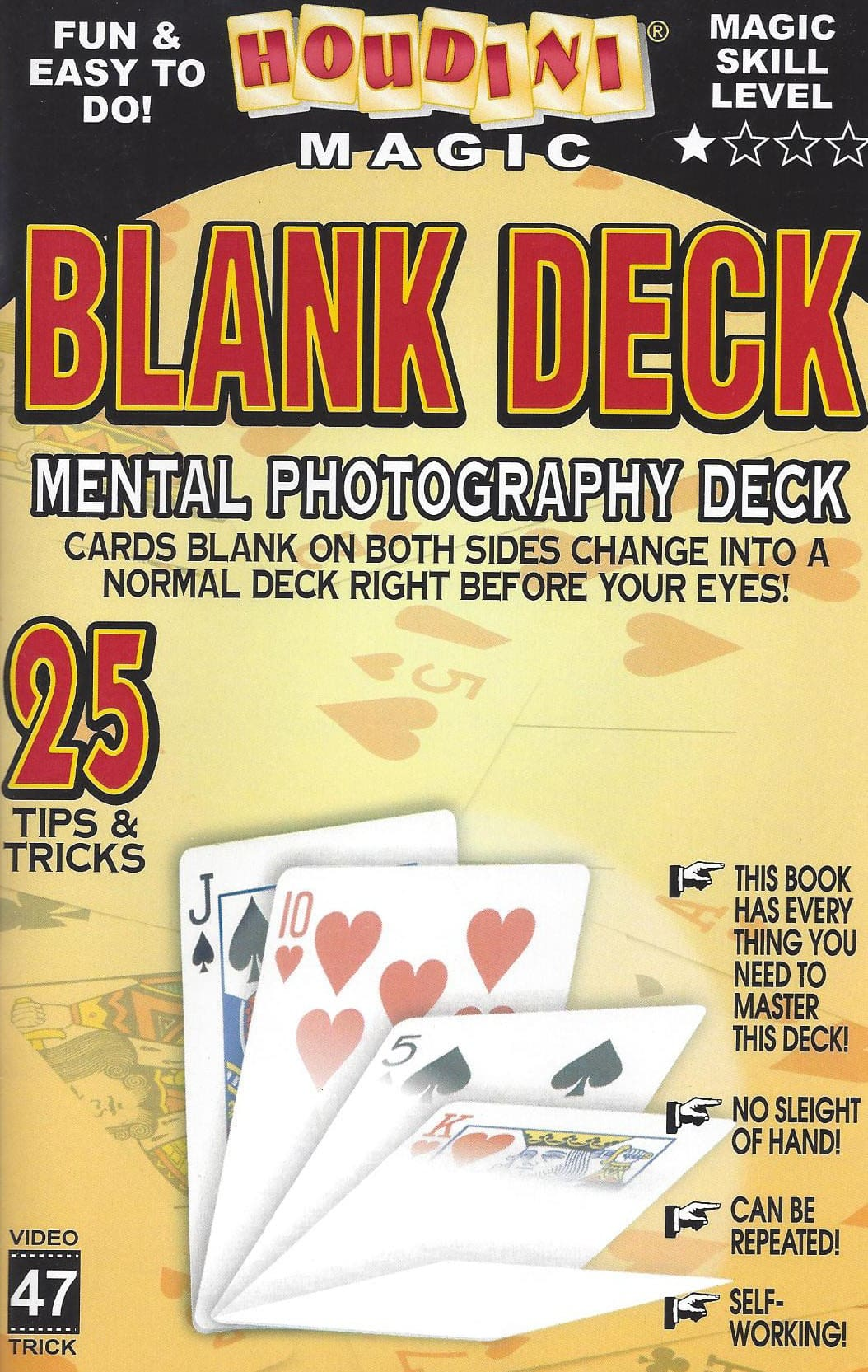 Blank Deck/ Mental Photography Deck