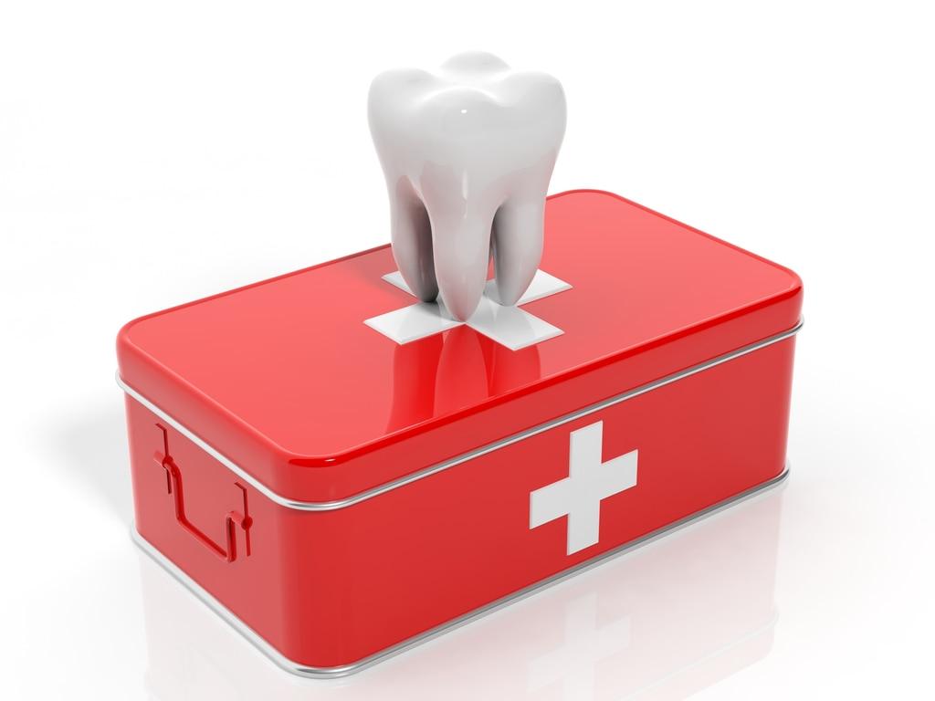 trousse de secours urgences dentaires