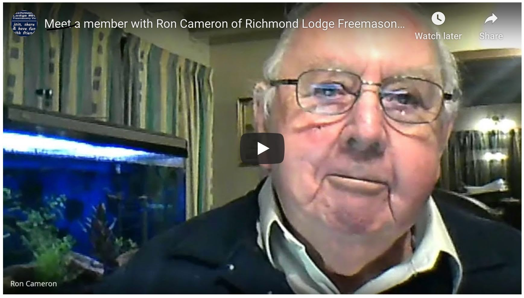 Meet a member with Ron Cameron