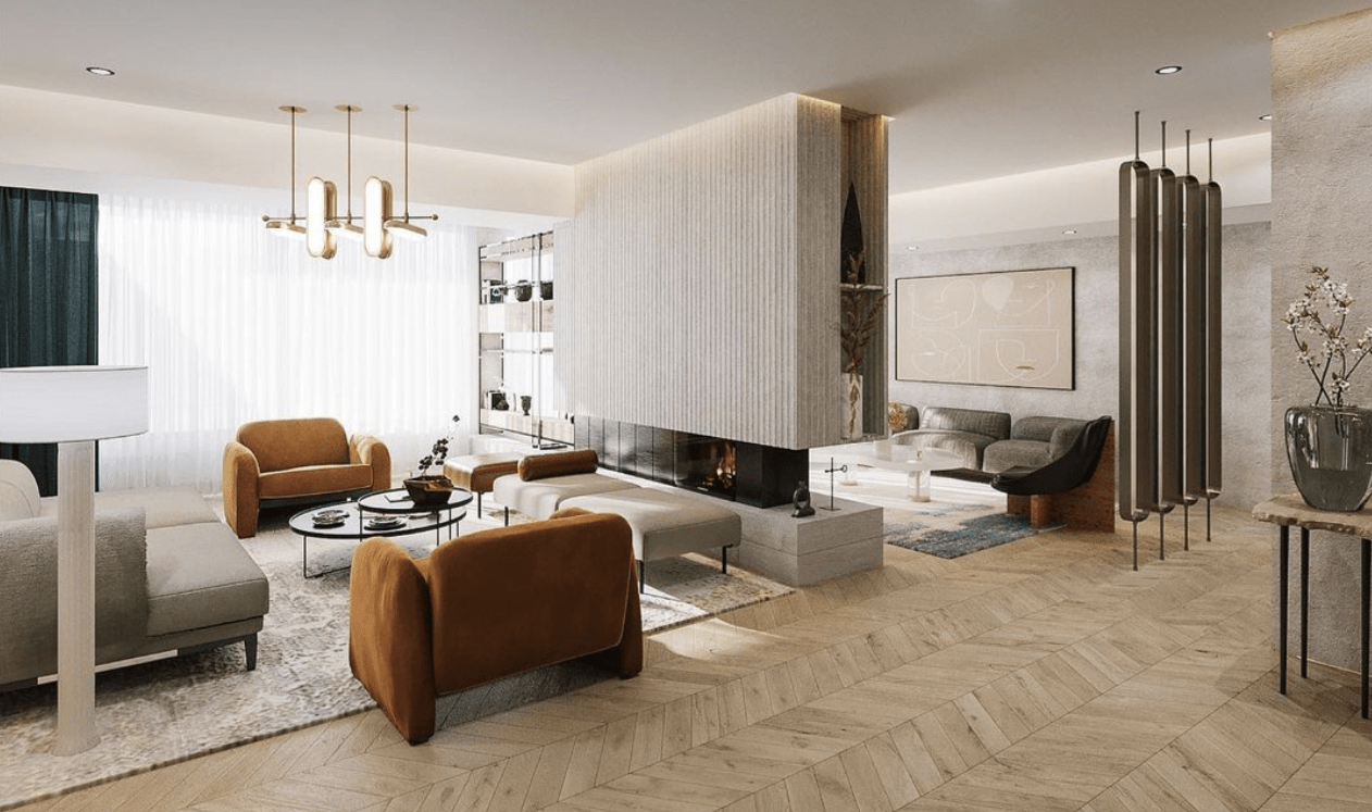 Private residence in Cairo designed by Naya Lab.