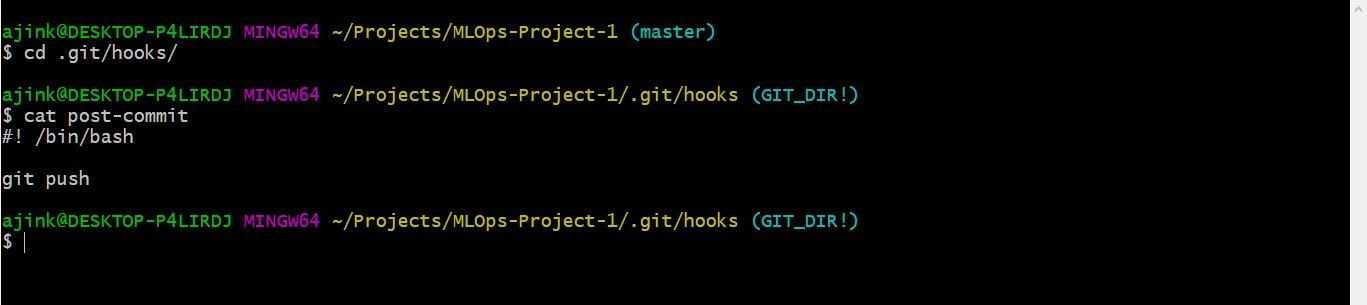 setting up git and env