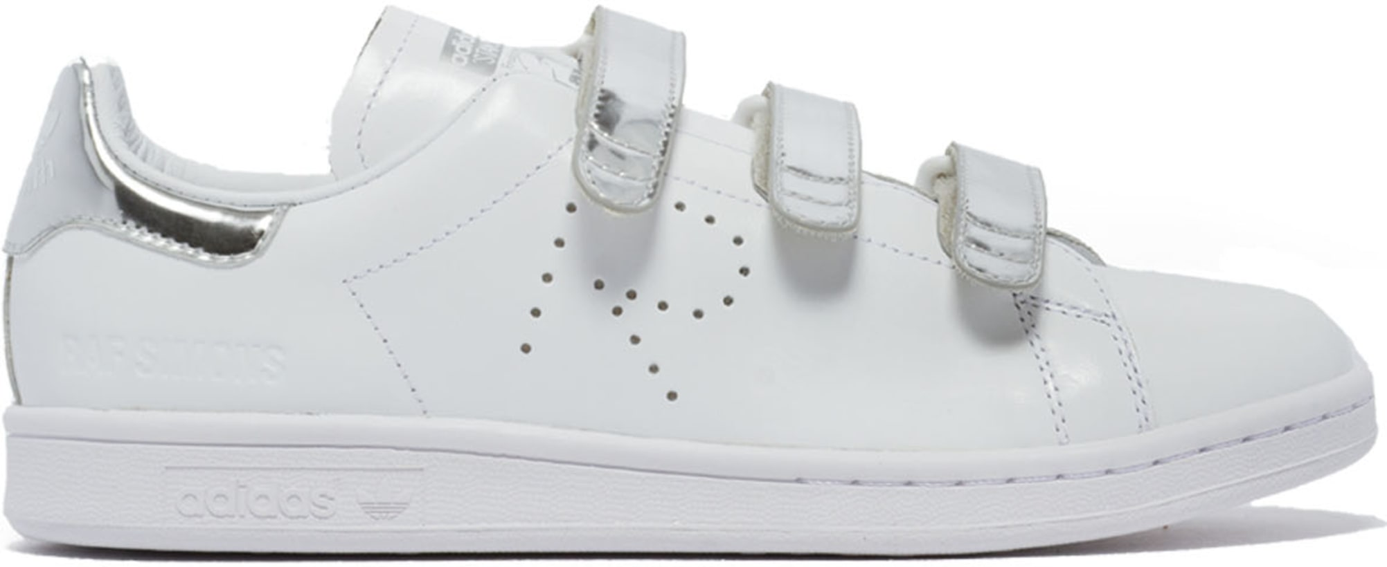 new style 806bb 749fa adidas by Raf Simons. Raf Simons Stan Smith Comfort Sneakers - White Silver