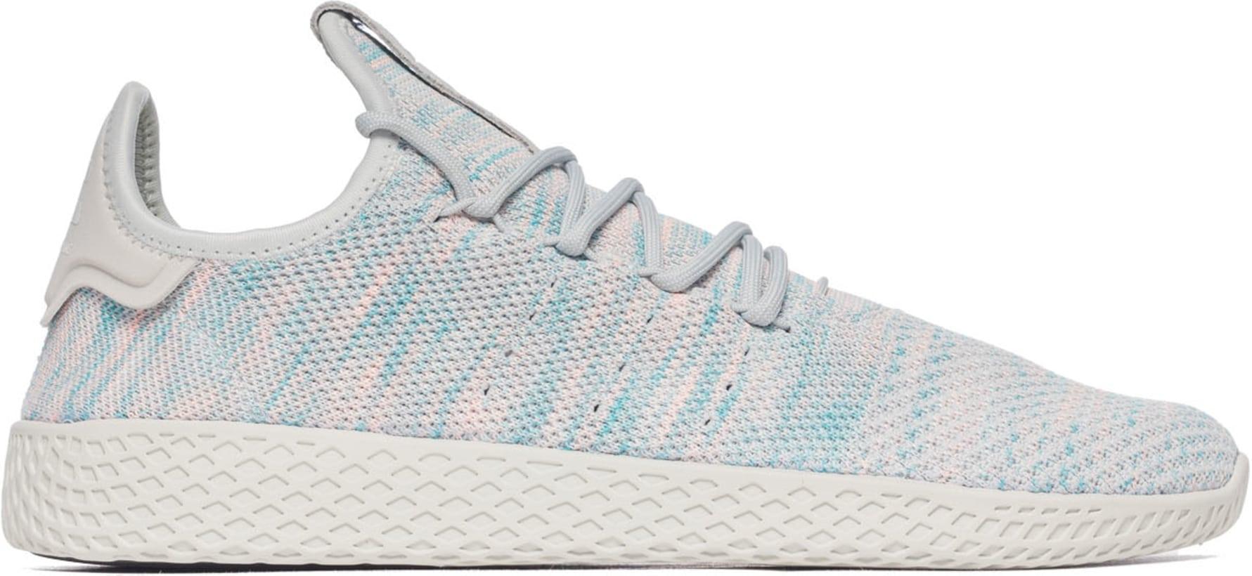 Pharrell Williams Tennis Hu - Pink Blue Light Grey  b23fa66c7b